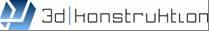3Dkonstruktion logo